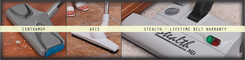 Central Vacuum attachments make it even easier to keep a clean house.