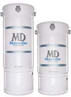 Modern Day Central Vacuum from MD Manufacturing